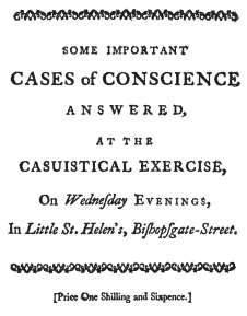 cases of conscience